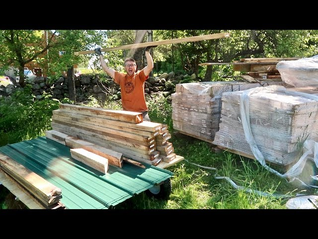 It's Time To OPEN the Post and BEAM BARN KIT!