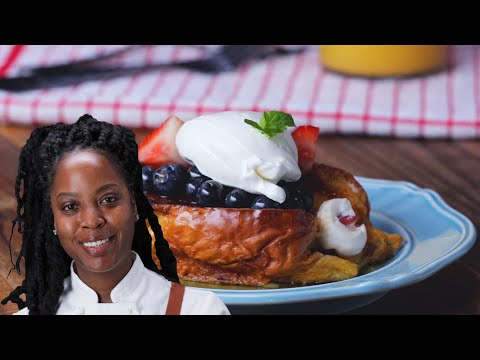 Stuffed French Toast By Chef Andrea Drummer • Tasty