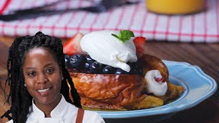 Stuffed French Toast By Chef Andrea Drummer •Tasty
