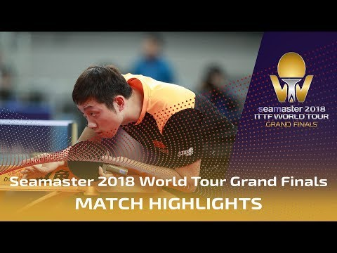 Xu Xin vs Wong Chun Ting   2018 ITTF World Tour Grand Finals Highlights (R16)