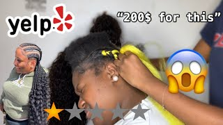 I WENT TO THE WORST REVIEWED HAIR SALON IN MY RATCHET CITY!!