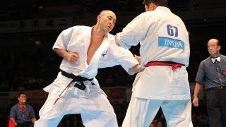塚越孝行vs塚本徳臣 The 42th All Japan Open Karate Tournament SEMIFI...
