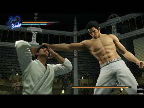 UFC freefighter Shinichi Shinohara vs Kazuma Kiryu. YAKUZA KIWAMI |