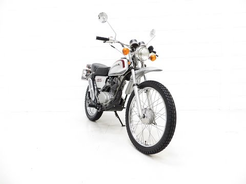 A Fabulous UK Honda SL125 Street Scrambler in Prime Condition - £3,995