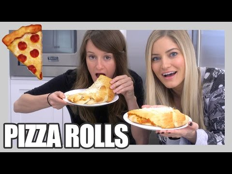 How to Make Pizza Rolls! | iJustine
