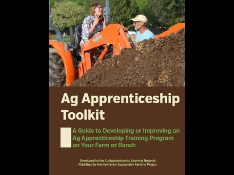 Ag Apprenticeship Network Toolkit & Resources Launch 3.6.18