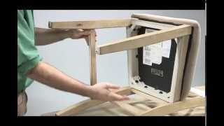 Assembly Video Of A Barstool With Stretchers - Ashley Furniture Homestore