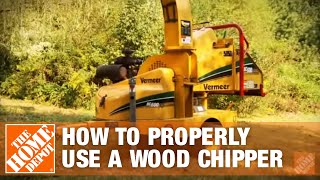 How To Properly Use A Wood Chipper - The Home Depot