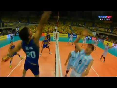 Amistoso - JG01 - BRASIL X ARGENTINA - Vôlei Masculino 2015