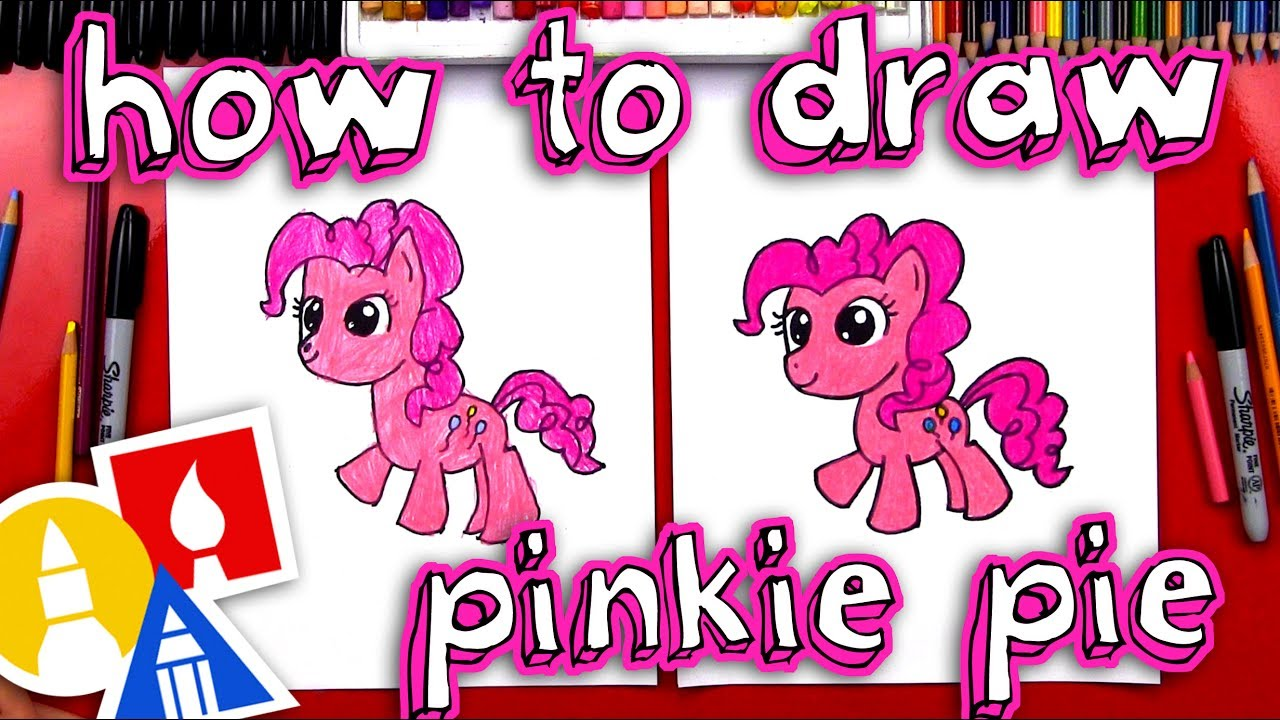 how to draw pinkie pie my little pony youtube