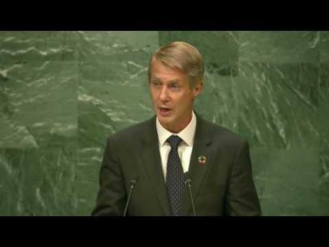 Mats Granryd, DG, GSMA at the UN General Assembly