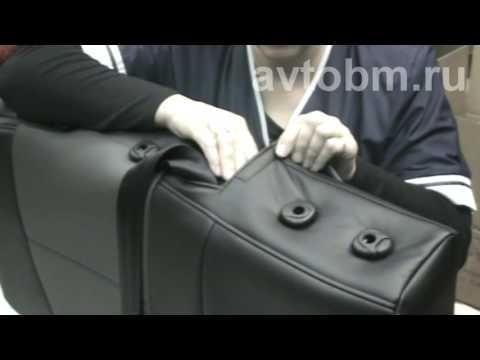 Установка авточехлов «B&M» на сиденья автомобиля «Лада Веста»