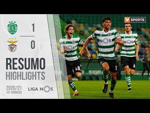 Highlights | Resumo: Sporting 1-0 Benfica (Liga 20/21 #16)