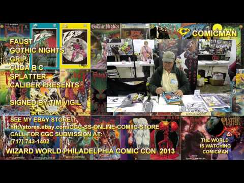 WIZARD WOLD COMIC CON 2013  TIM VIGIL Grips, Faust