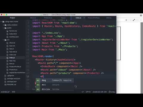 07 Accessing URL Parameters using React Router - YouTube