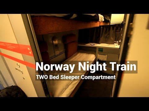 Norway Night Train - NSB Two Bed Sleeper