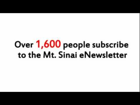 Mt Sinai Journal Ad Campaign (Alternate Music)