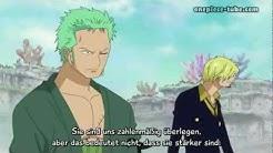 One Piece Rufy(Könighaki) vs 50.000 Fischenmenschen HD Folge 554