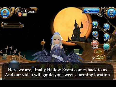 Toram Online: SWEET'S Farming LOCATION Guide for HALLOWEEN