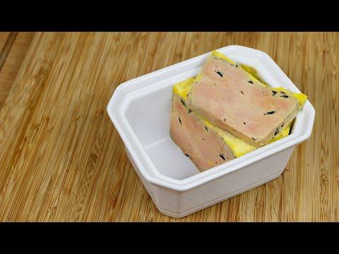 foie-gras-à-la-truffe-et-pineau-blanc,-cuisson-sous-vide
