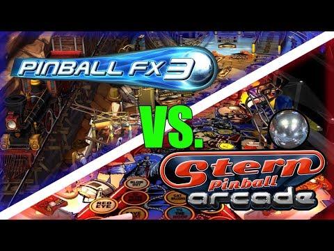 What Should You Buy? Switch Pinball: Pinball FX3 vs Stern Pinball Arcade