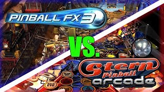 What Should You Buy? Switch Pinball: Pinball FX3 vs Stern Pinball Arcade