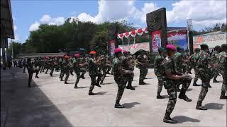 Goyang Dumang versi Brigif 21/Komodo HUT TNI ke 71