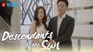 Descendants of the Sun EP4 How Jin Goo Kim Ji Won Met Eng Sub