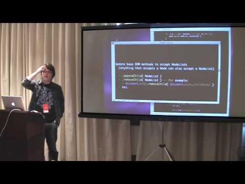 John Resig: Building a better DOM API