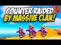 COUNTER RAIDED by MASSIVE CLAN - Rust Solo #4