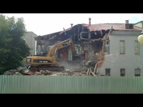 Снос культового здания в столице - Бани №1