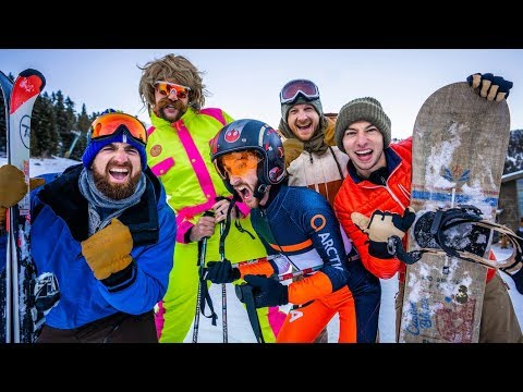 Skiing Stereotypes | Dude Perfect Mp3
