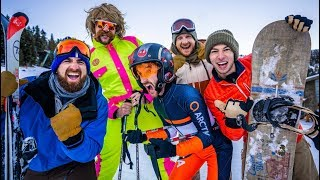 Skiing Stereotypes | Dude Perfect thumbnail
