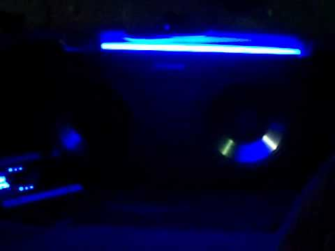 Duals Subs with LED and Neon Lights