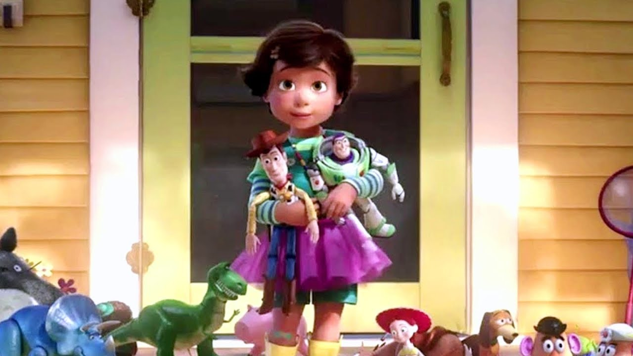 Toy Story 3 Andy Says Goodbye To His Toys Eu Portuguese Youtube