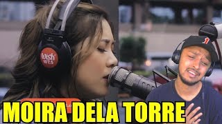 """HER VOICE IS AMAZING!! MOIRA DELA TORRE """"YOU ARE MY SUNSHINE"""" WISH 107.5 REACTION"""