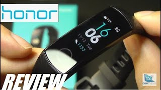REVIEW: Huawei Honor Band 4 - Color Fitness Tracker!