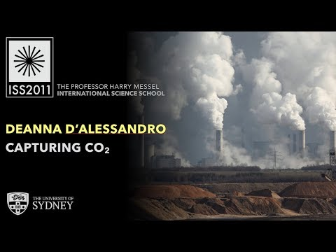 Capturing CO2 — Dr Deanna D'Alessandro