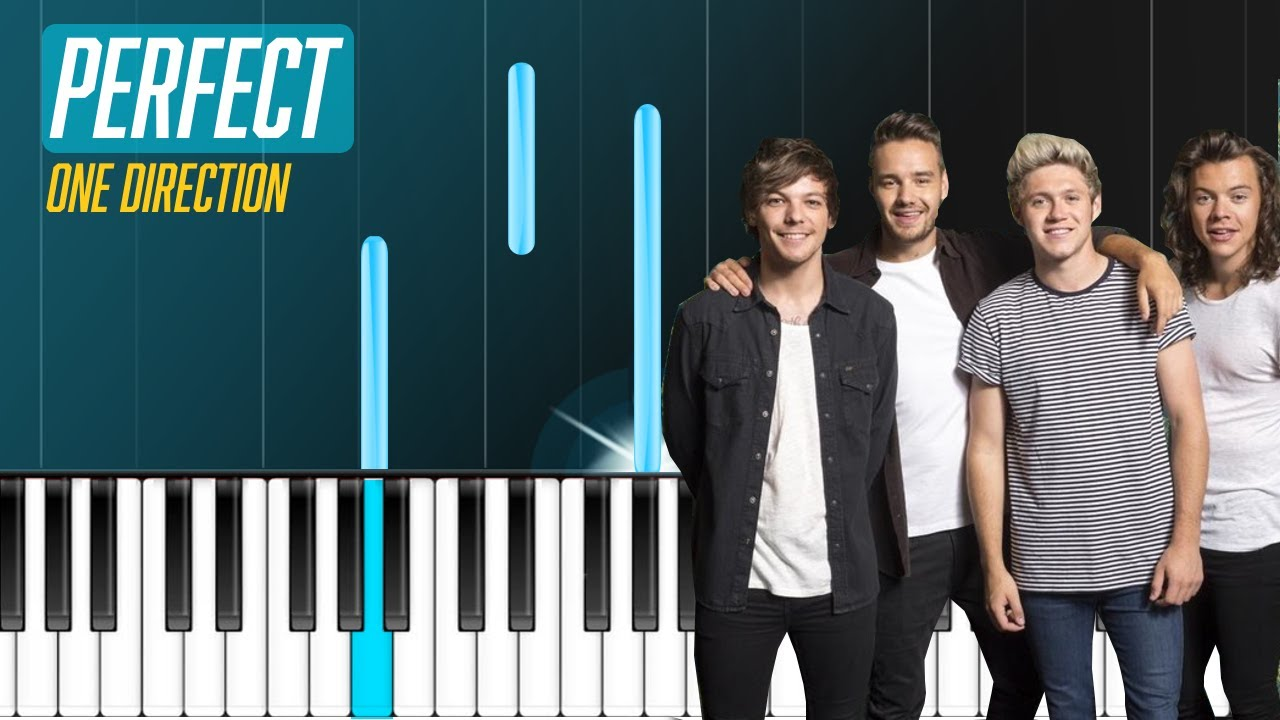 One Direction   ''Perfect'' Piano Tutorial   Chords   How To Play   Cover