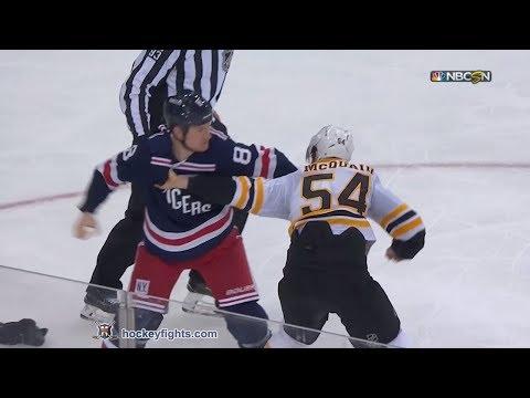 Adam McQuaid vs Cody McLeod Feb 7, 2018 #2