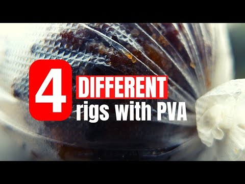 Solid Bag Rig + 3 Other Great PVA Fishing Presentations