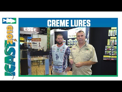 Creme Lures The Tube Worm With Brett Pruett | ICast 2019