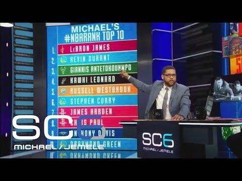 SC6 ranks their current top 10 NBA players | SC6 | ESPN