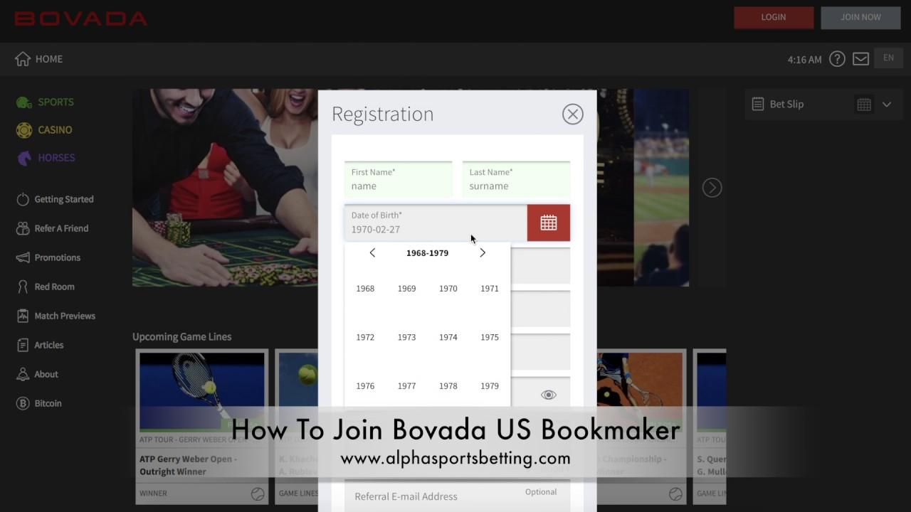 Bovada Sportsbook Review - Bovada Sports Gambling - Online