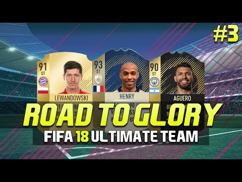 FIFA 18 Ultimate Team | Road To Glory | Episode 3 | SQUAD BATTLE REWARDS!