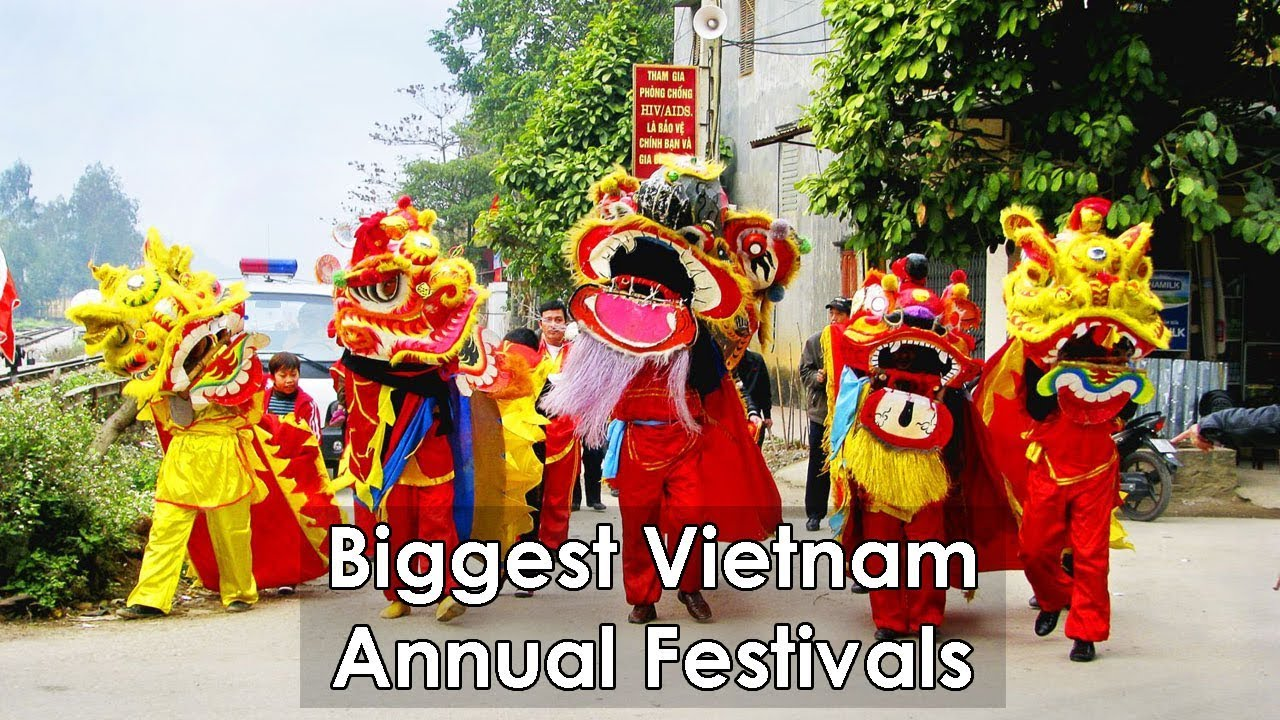 14 Biggest Vietnam Festivals - Paradise Travel