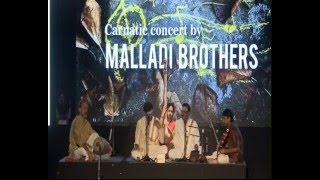 Carnatic concert l Malladi Brothers | 80th Birthday l Celebrations | Dr. Umayalpuram K. Sivaraman