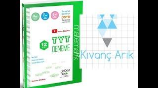 üçdörtbeş Matematik Deneme 1 çözümleri 2kısım Youtube