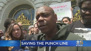 Comic Dave Chappelle Leads Push To Save Landmark San Francisco Comedy Club