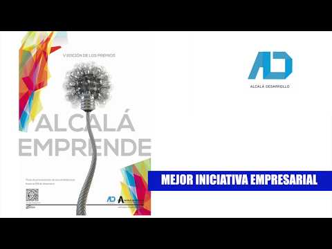 Vídeo promocional de la V Edición de los #PremiosAlcaláEmprende